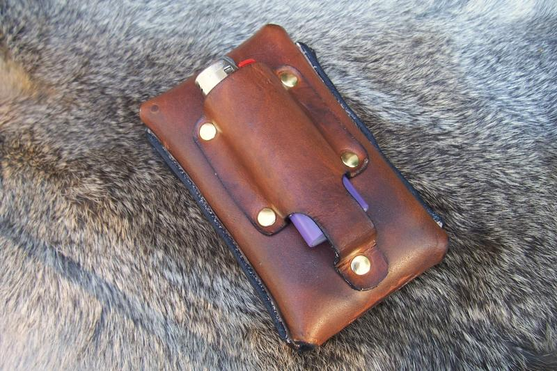 Cigarette Case With Lighter Holder 187 Rmb Custom Leather