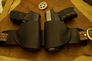 Double Small of Back Holsters