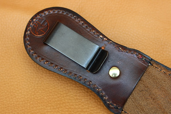 Leather Knife Sheath 8 Overall 5 Fixed Blades Belt