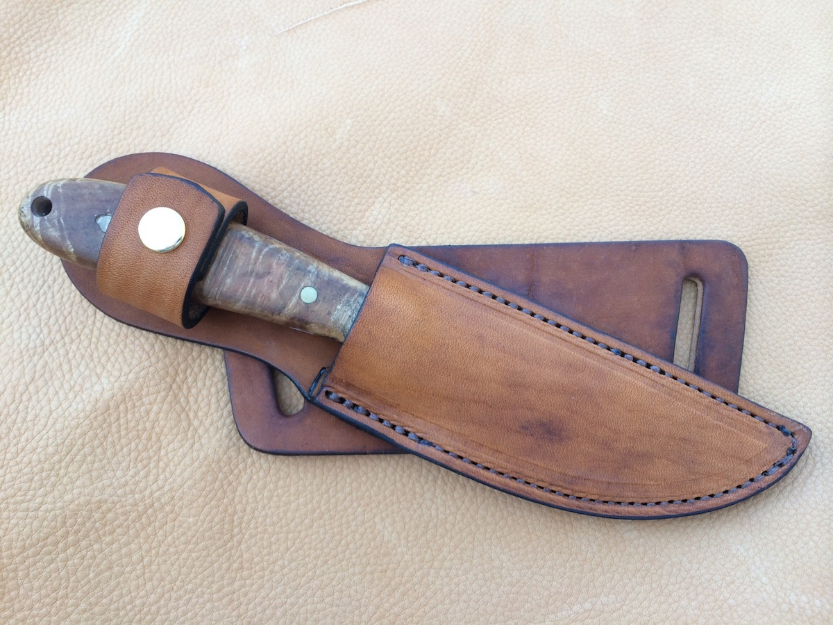 knives with sheaths custom leather knife sheath 8 overall 5 fixed blades