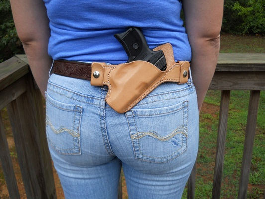 Compact 9mm semi automatic holster45 187 rmb custom leather