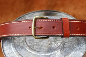 Custom Leather Gun Holster – Outside Waist Band (HOLSTER35