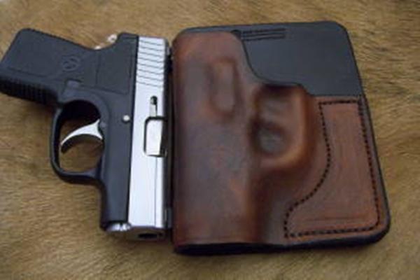 Custom Leather Wallet / Pocket Holster (HOLSTER47) – RMB
