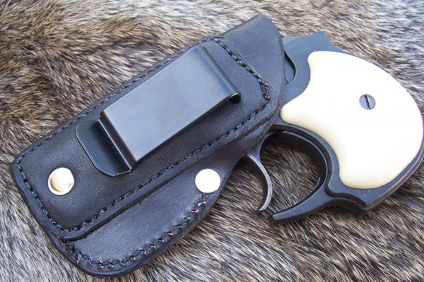 Leather Pocket Holster High Standard Mfg Corp