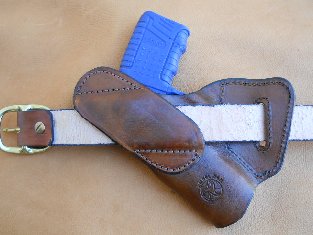 Custom Leather Holster – Small Of Back Carry (HOLSTER39