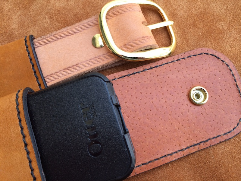 Cell Phone Case - Leather Drop Belt Loop - Fits iPhone ...